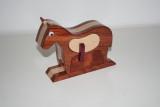 horse bandsaw box