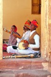 Rajput Musiciens in the Fortress