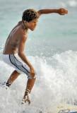 Creole Boy Surfer