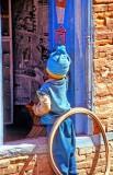 Boy In Blue With A Broken Arm