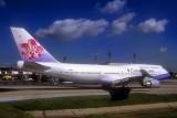 China Airlines B-747/400, B-18272