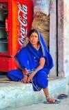 The Coca-Cola Woman