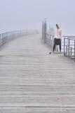 Skater In The Fog