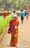 Old, Pious, Goan Lady