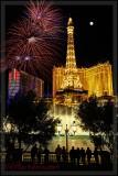 Ballys Paris Fireworks