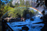 Yosemite Falls Rainbow Mist