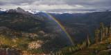 Glacier Point Rainbow