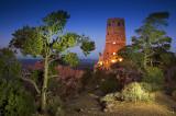 Desert Watchtower Twilight