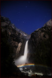 Yosemite Falls Starlight Moonbow