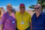 2018 - Linda, Dennis & Ken at the Bay of Fundy, New Brunswick - Canada