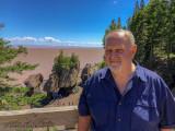 2018 - Ken at Hopewell Rock - Bay of Fundy, New Brunswick - Canada