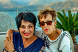 2018 - Louise & Bonnie, Sky Bar at La Palma Hotel - Lake Maggiore - Stresa, Verbano Cusio Ossola - Italy