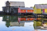 Cottages in the harbor