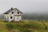 Mist, rain and an abandoned house