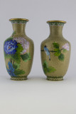 Vases 33, 34, - 8 - A matched, really mirror pair purchased in a gift shop at the Great Wall.