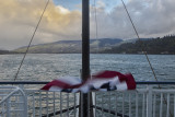 19.  Underway from The Dalles, headed for Stevenson, WA