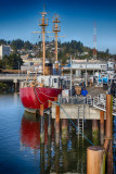 32.  A retired lightship at Astoria