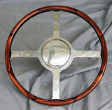 Custom Bespoke Wood Steering Wheel for Delahaye