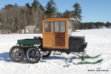 Wood Cab Model T Snowmobile
