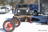1928 Ford Model AA Truck Snowmobile