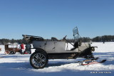 1912 Ford Model T Touring with skis