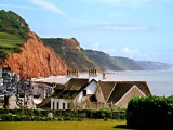Sidmouth from Harbour Hotel deck