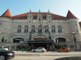 Front of the old St. Louis Union Station Hotel