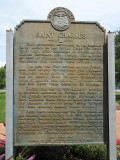 Some of the story of St. Charles, just outside St. Louis