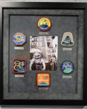 Insignias from the Mercury Space Program