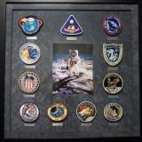 Insignias from the Apollo space program