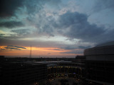 A sunset in St. Louis
