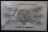 Plaque for the Mercury Space Program