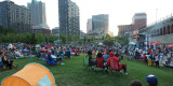 As the sun sets - Blues at the arch, St. Louis