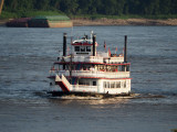 Going for a ride on the Mississippi at St. Louis