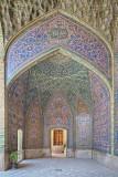 Nasir ol Molk Mosque doorway - Shiraz