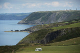 From Mwnt to Aberporth MOD (Ministry of Defence) site