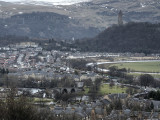 Stirling from the castle
