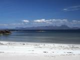 Sand, sea, mountain and sky