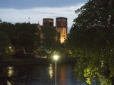 Inverness Cathedral at night