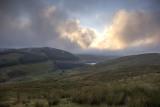 Nant Y Moch dam - evening view