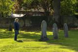 Reading the gravestones