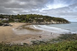 Aberporth from coastal path