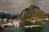 A little bit of sun in Hamnøy