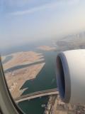 Take off from Dubai. B777 Dubai-Oslo
