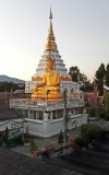 View from the balcony at Sri Chiang House. Ciang Mai