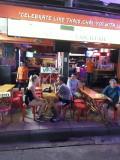Very strong coctails.  Khao San Road. Bangkok.