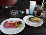 Scandinavian sandwiches at Stable Lodge Soi 8