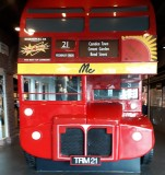 London bus at terminal 21 Sukumvit.