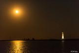 Full Moon over Lighthouse  4