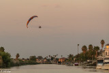 Powered Paragliding Sunset  21